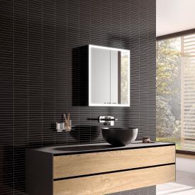 Emco Prestige 2 wall-mounted illuminated mirror cabinet