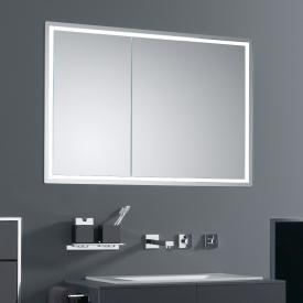 Emco Prestige built-in illuminated mirror cabinet wide door right