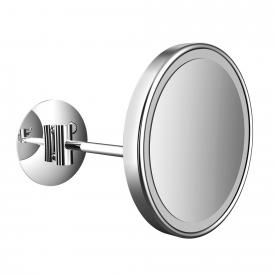 Emco Pure LED shaving and beauty mirror with direct connection chrome