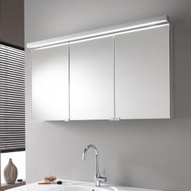 Emco Pure wall-mounted illuminated mirror cabinet without washbasin lighting