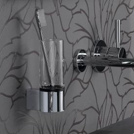 Emco System2 glass holder, wall-mounted