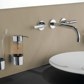 Emco System2 liquid soap dispenser, wall-mounted