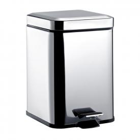 Emco System2 square waste bin with cover