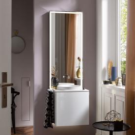 Emco Touch slim furniture set optiwhite/chrome