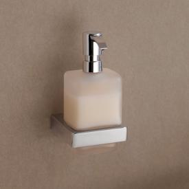 Emco Trend liquid soap dispenser, wall-mounted