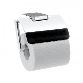 Emco Trend toilet roll holder with cover