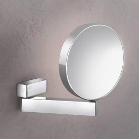 Emco Universal Miroir cosmétique, rond, modèle mural chrome
