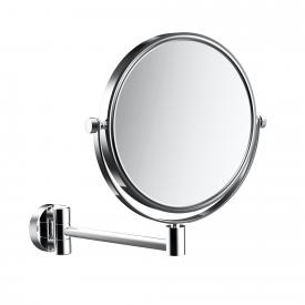 Emco Universal shaving and beauty mirror, round, wall-mounted chrome