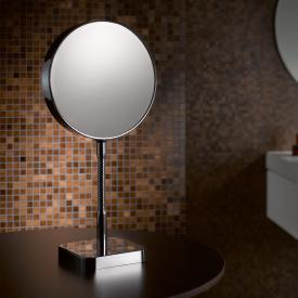 Emco Universal shaving / beauty mirror, round, freestanding