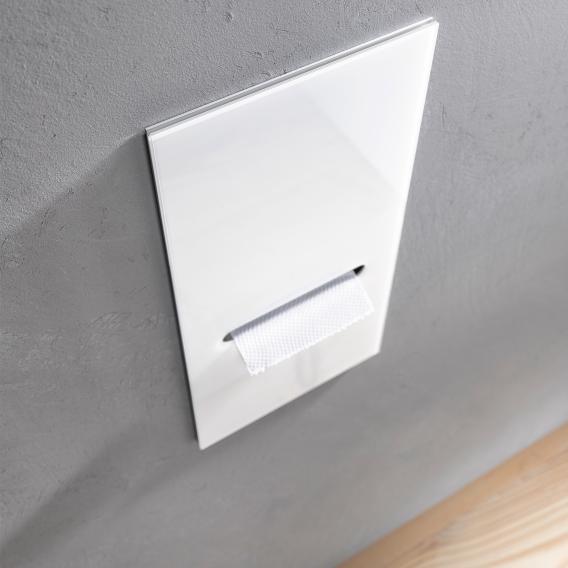 Emco Asis 2.0 built-in toilet paper module optiwhite