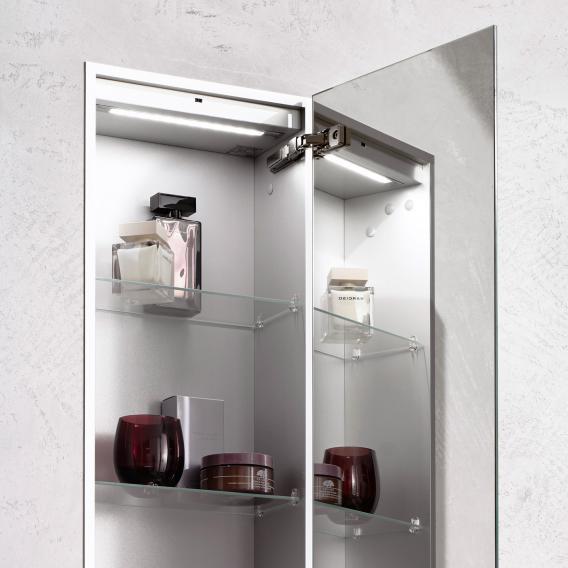 Emco Asis 2.0 concealed unit module aluminium/mirrored