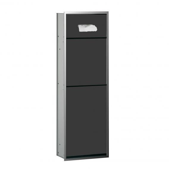 Emco Asis built-in cosmetic module black/chrome