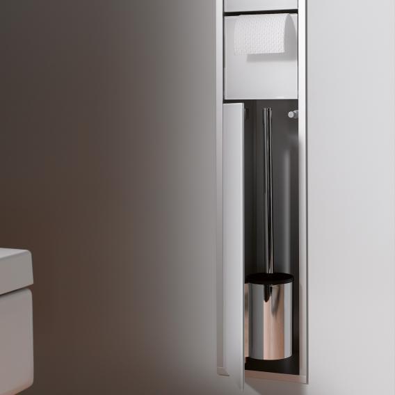 Emco Asis concealed toilet module optiwhite/aluminium