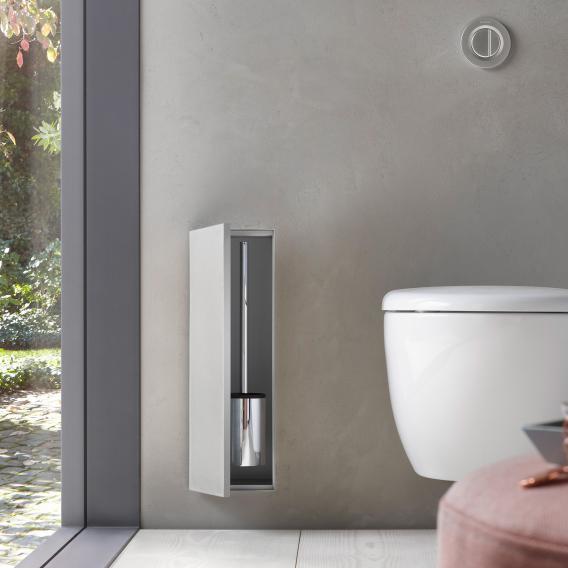 Emco Asis Plus concealed toilet brush set module