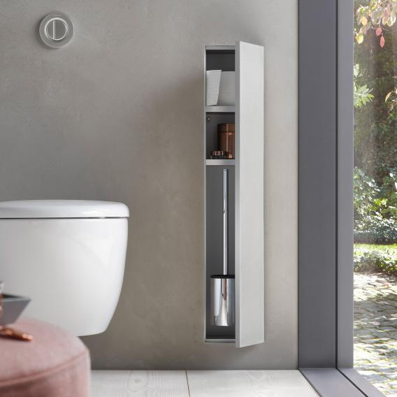 Emco Asis Plus concealed toilet module hinged right