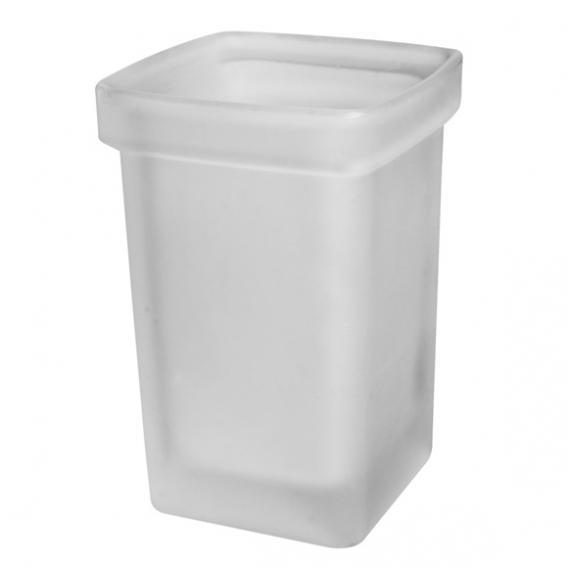 Emco Loft | Trend glass part for toilet brush set, satin
