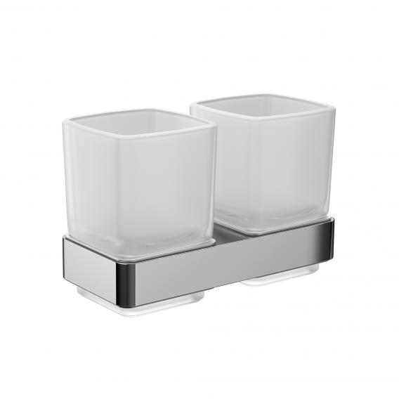 Emco Loft double tumbler holder, wall-mounted