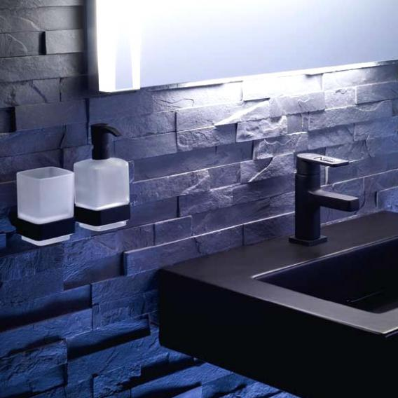 Emco Loft liquid soap dispenser, wall-mounted chrome