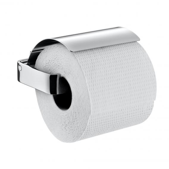 Emco Loft toilet roll holder with cover chrome