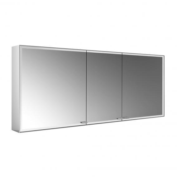 Emco Prestige 2 wall-mounted illuminated mirror cabinet, 3 doors