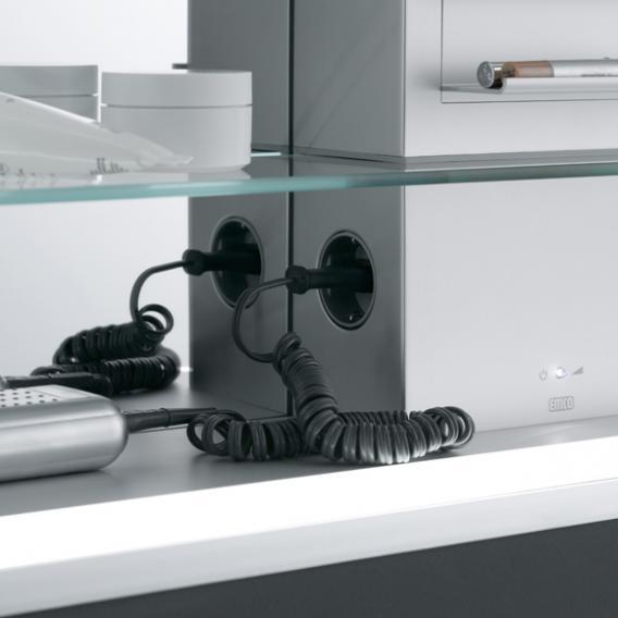Emco Prestige built-in illuminated mirror cabinet