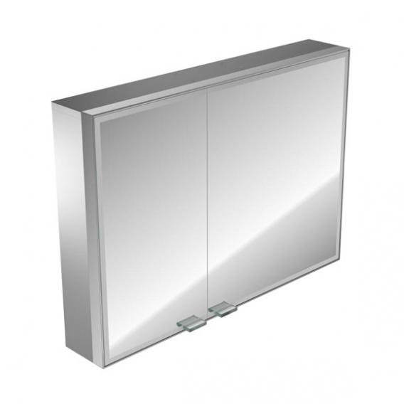 Emco Prestige wall-mounted illuminated mirror cabinet wide door right