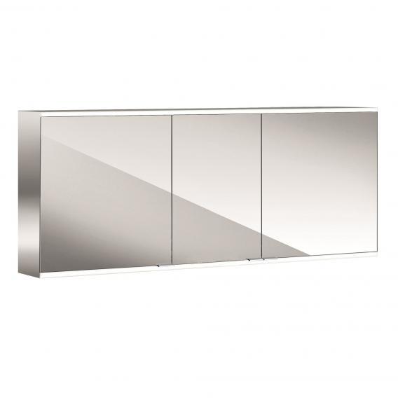 Emco Prime2 mounted LED illuminated mirror cabinet, 3 doors