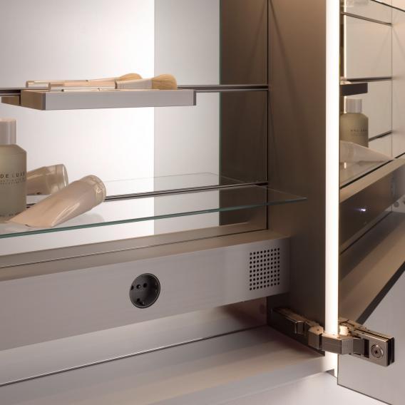 Emco Select LED illuminated mirror cabinet