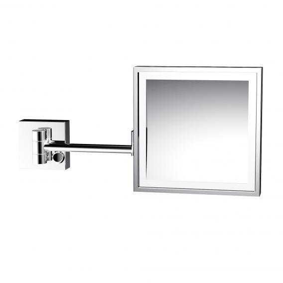 Emco Universal LED shaving and beauty mirror, square, wall-mounted