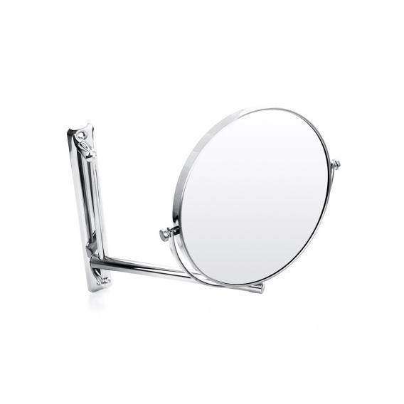 Emco Universal shaving and beauty mirror, round, wall-mounted