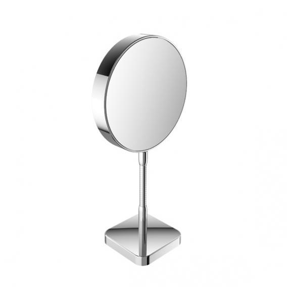 Emco Universal shaving / beauty mirror, round, freestanding