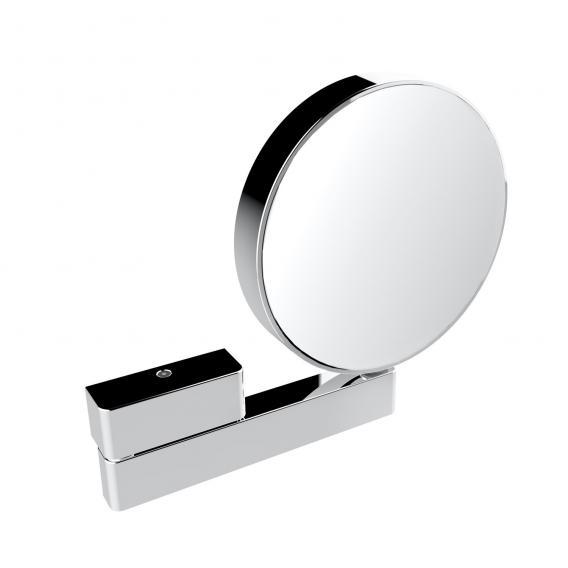Emco Universal shaving / beauty mirror, round, wall model chrome