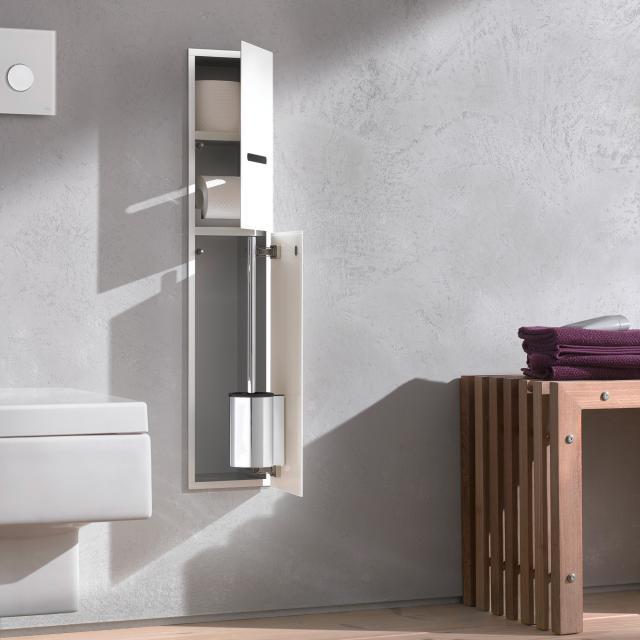 Emco Asis 2.0 concealed toilet module optiwhite