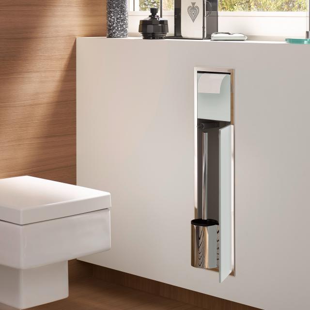 Emco Asis concealed toilet module optiwhite