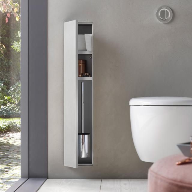 Emco Asis Plus concealed toilet module hinged left