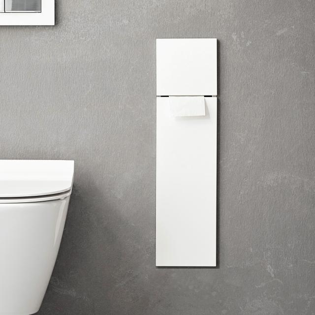 Emco Asis Pure recessed toilet module matt white