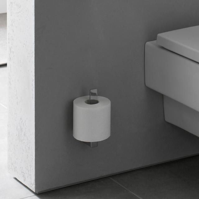 Emco Loft toilet roll holder for spare toilet roll chrome