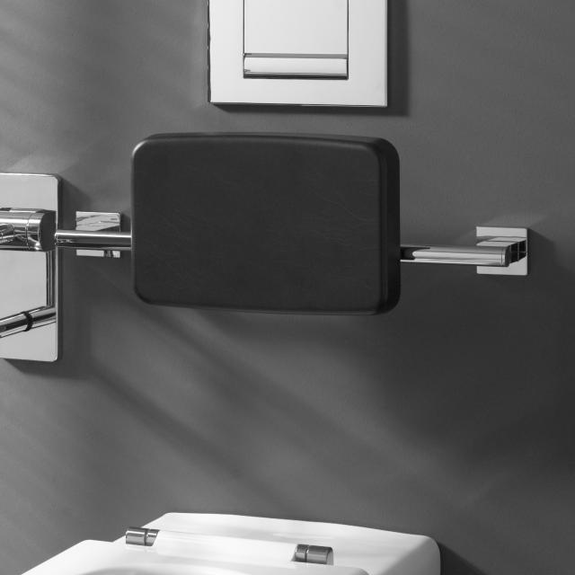 Emco System2 backrest (toilet) with wall bracket