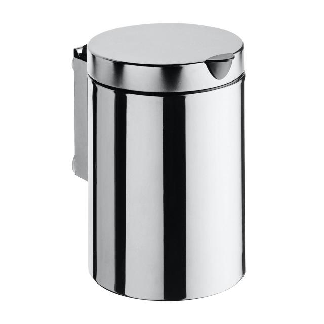 Emco System2 wall-mounted waste bin with lid