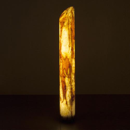 Epstein-Design Sahara column LED bollard light with dimmer
