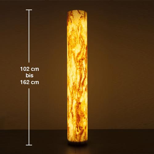 Epstein-Design Sahara Turm bollard light with motion sensor