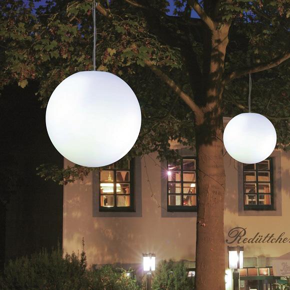 Epstein-Design Snowball pendant light with motion sensor