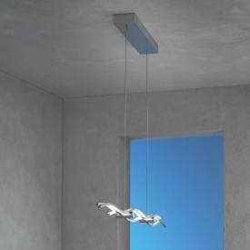 Escale Silk LED pendant light with switch
