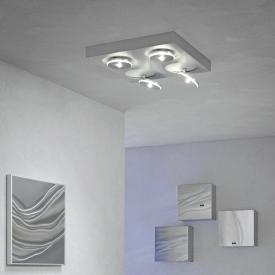 Escale Spot it LED ceiling light/spotlight 4 heads, square
