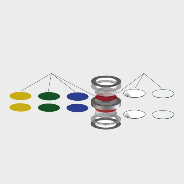 Escale dichroic colour filter for VIO light