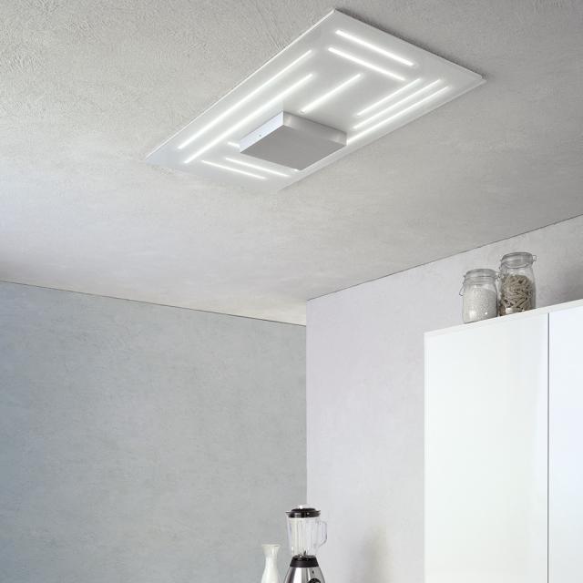 Escale Fine LED ceiling light rectangular
