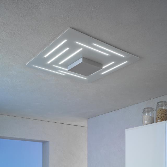 Escale Fine LED ceiling light square