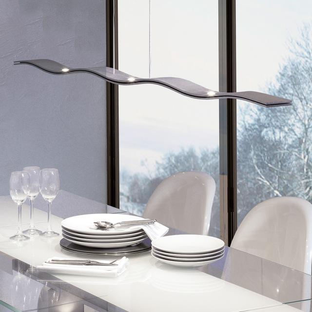 Escale Fluid LED pendant light, 7 heads