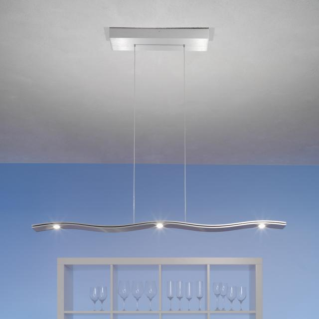 Escale Fluid LED pendant light, 5 heads