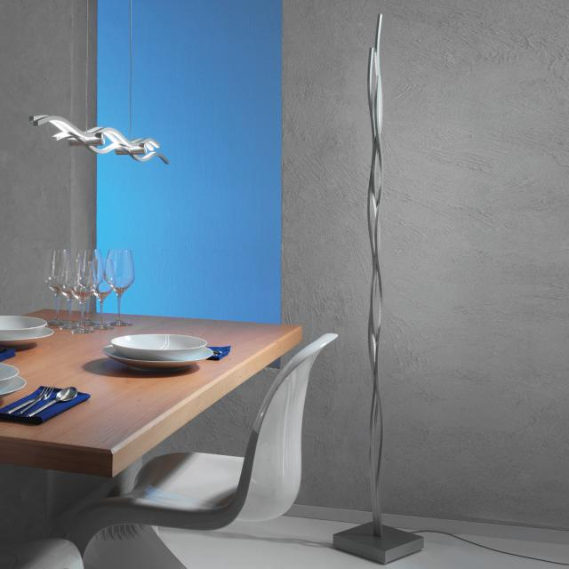 Escale Silk LED floor lamp with dimmer
